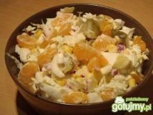Surówka z pekinki i mandarynek