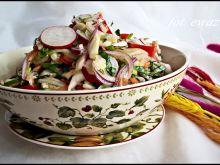 Surówka z pekinki na kolorowo