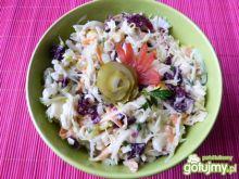 Surówka z selera, cykorii i marchewki