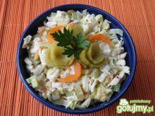 Surówka z selera i kapusty pekińskiej 2