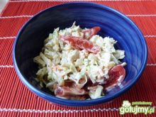Surówka z warzyw i jabłka