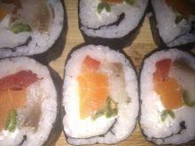 """""""Sushi"""" ze śledziem"""
