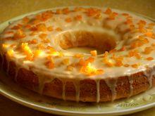 Świąteczna babka jogurtowo-pomarańczowa