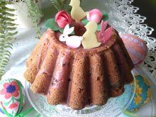Świąteczna babka z wiśniami ( z soku)
