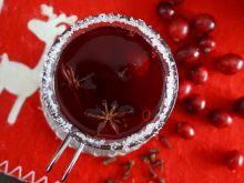Świąteczna 'herbata' żurawinowa