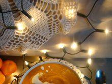 Świąteczna kremowa zupa mandarynkowo-dyniowa