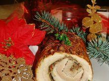 Świąteczna rolada z boczku
