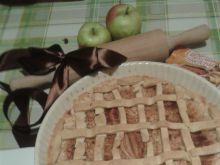 Świąteczna tarta jabłkowo-cynamonowa