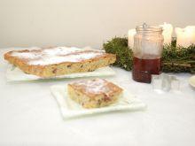 Świąteczne ciasto kawowo orzechowe