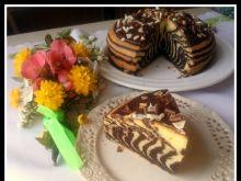 Świąteczne ciasto zebra