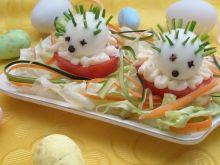 Świąteczne jeżyki z jajek