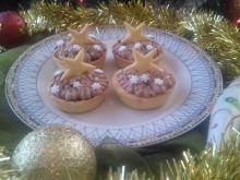 Świąteczne makowe babeczki z kakaowym kremem