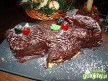 Świąteczne polano czyli Bûche de Noël