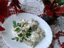 Świąteczne śledzie w sosie majonezowym