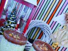 Świąteczny deser z tapioki