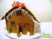 Świąteczny domek z piernika