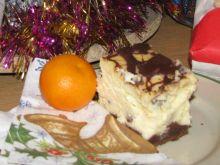 Świąteczny murzynek z serem