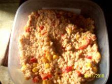 Świetna sałatka z ryżem i tuńczykiem