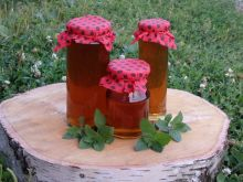 Syrop  miętowy do herbaty i nie tylko