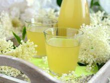 Syrop z kwiatów czarnego bzu z nutą cytryny