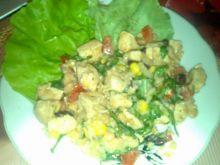 Syta sałatka z kurczaka
