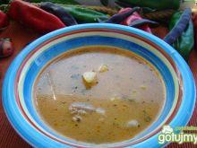 Syta zupa gulaszowa z warzywami
