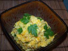 Szafranowe risotto z kurczakiem i dynią