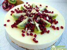 Szafranowy jogurtowiec z orzechami