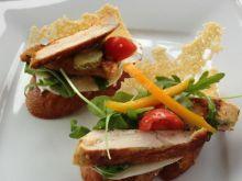 Szampańskie kanapeczki z kurczakiem