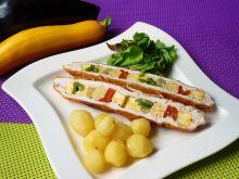 Szaszłyk warzywny w mięsie