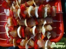 szaszłyki drobiowe z papryką