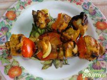 Szaszłyki grillowe z indykiem