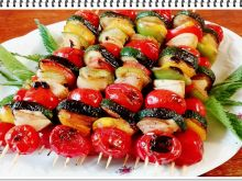 Szaszłyki warzywne Eli z grilla