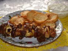 Szaszłyki wieprzowe z piekarnika