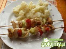 Szaszłyki z kurczakiem i warzywami 2