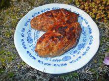 Szaszłyki z mięsa mielonego na pomidorowo