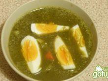 Szczawiowa z jajkiem