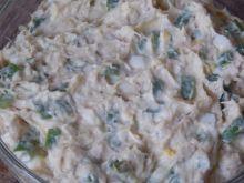 Szczypiorkowa pasta z makreli
