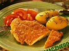 Sznycelki drobiowe w serowej panierce
