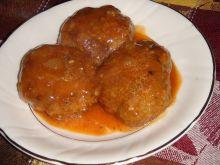 Sznycelki w sosie pomidorowym