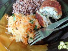 Sznycle szparagowo-rybne