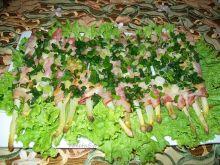 Szparagi pieczone z boczkiem i mozzarellą