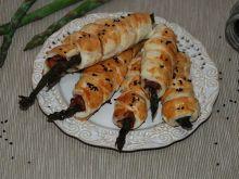 Szparagi w szynce i cieście francuskim