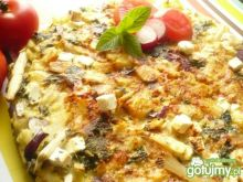 Szparagowa tortilla z fetą