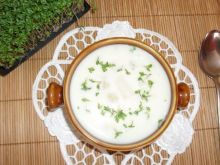 Szparagowa zupa kremowa.