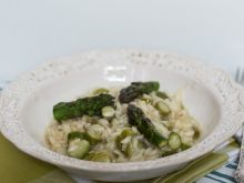 Szparagowe risotto