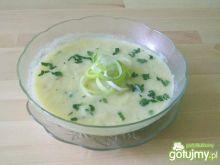 Szparagowo - porowa zupa krem