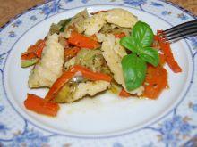 Szpecle alzackie  z warzywami