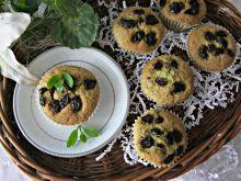 Szpianakowo żurawinowe muffinki
