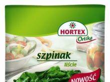 Szpinak w liściach Hortex